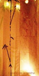 El baño de la Geisha